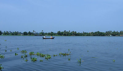 Vembanad Lake in kumarakom