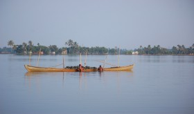 Sand mining in vembanad lake